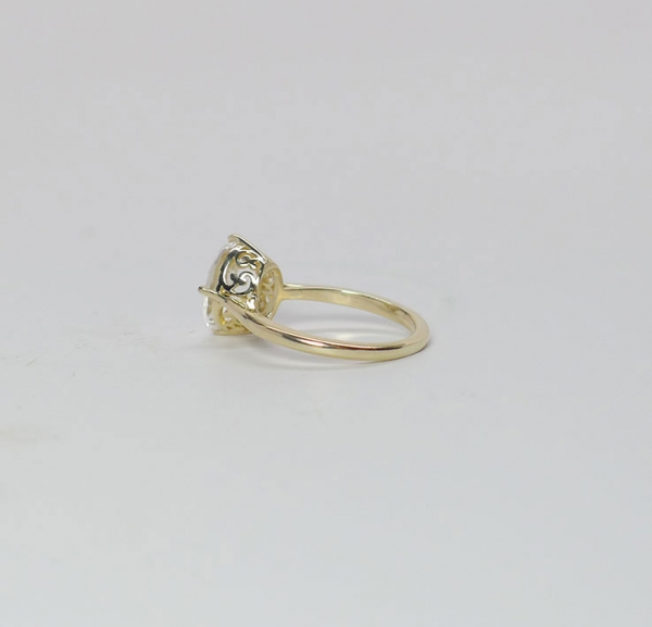 Gold Oval Ring