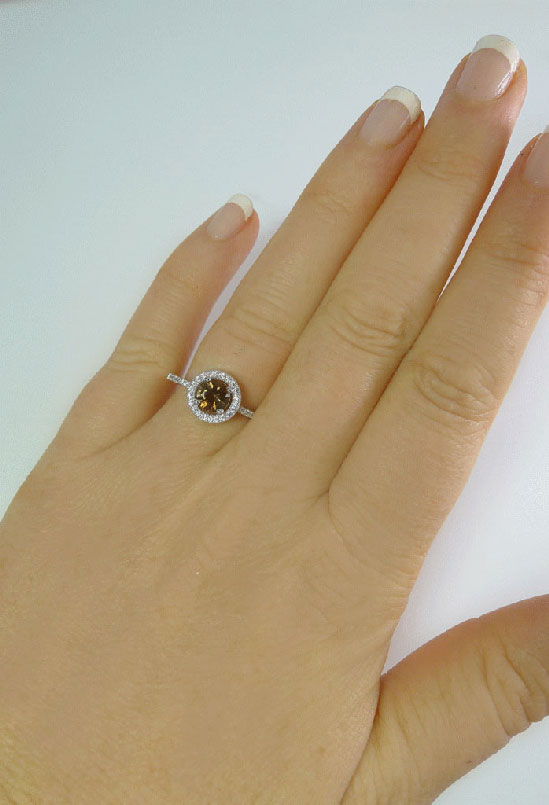 Andalusite Ring