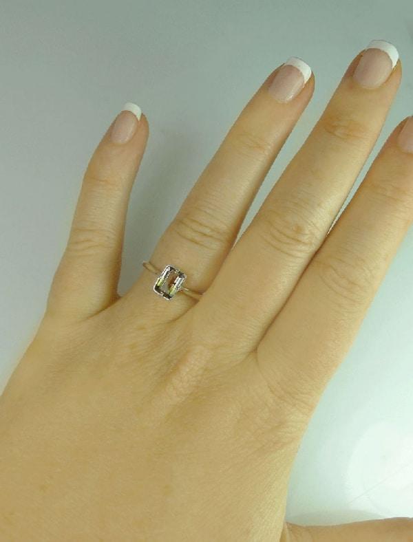 Bi Color Tourmaline Jewelry