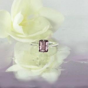 Unique Purple Tourmaline Ring
