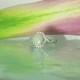 Unique Opal Halo Ring