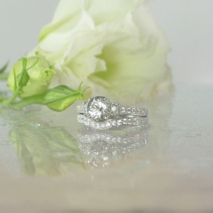 Antique Style Wedding Set