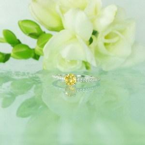 Dainty Sapphire Ring