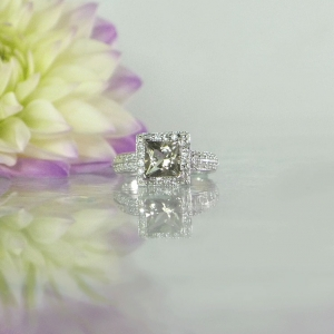 Unique Princess Cut Ring