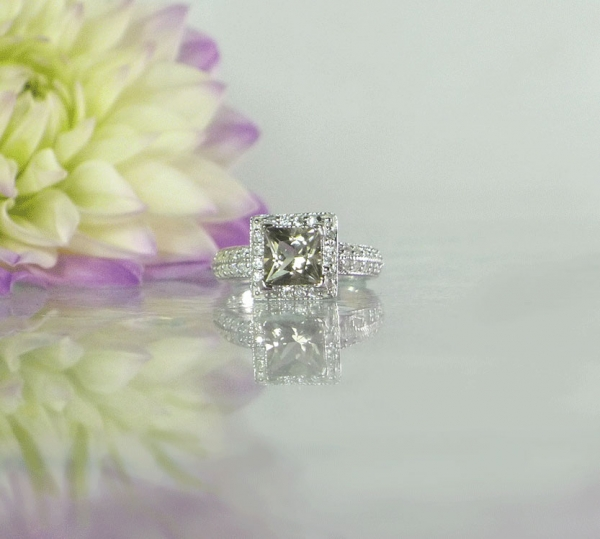 Unique Princess Cut Ring