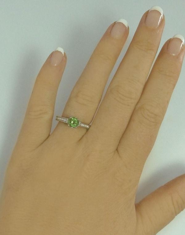 October Birthstone Ring