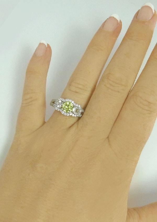 Chrysoberyl Ring