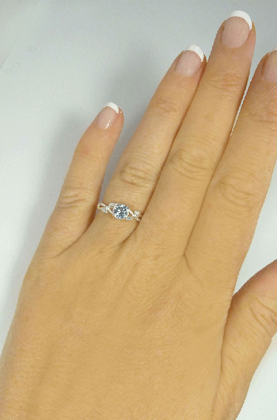 March Engagement Ring