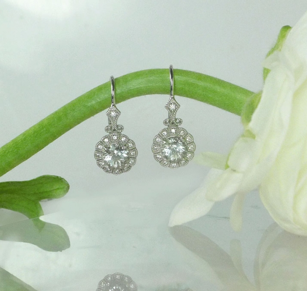 Conflict Free Diamond Earrings