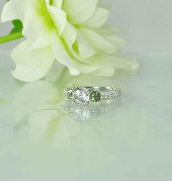 September Birthstone Ring