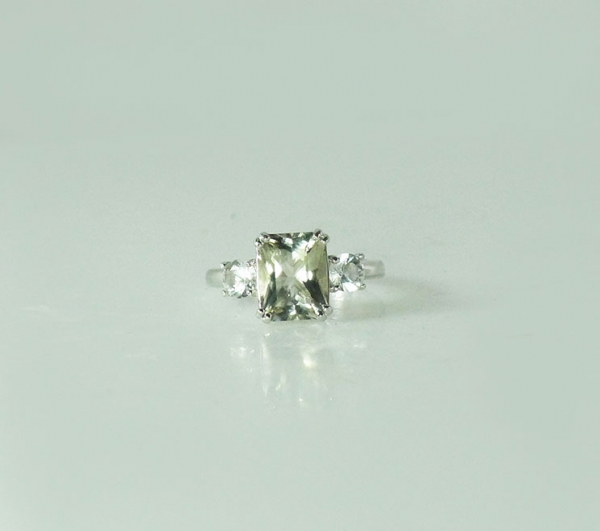 Herkimer Diamond Statement Ring