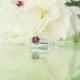 pink tourmaline wedding set