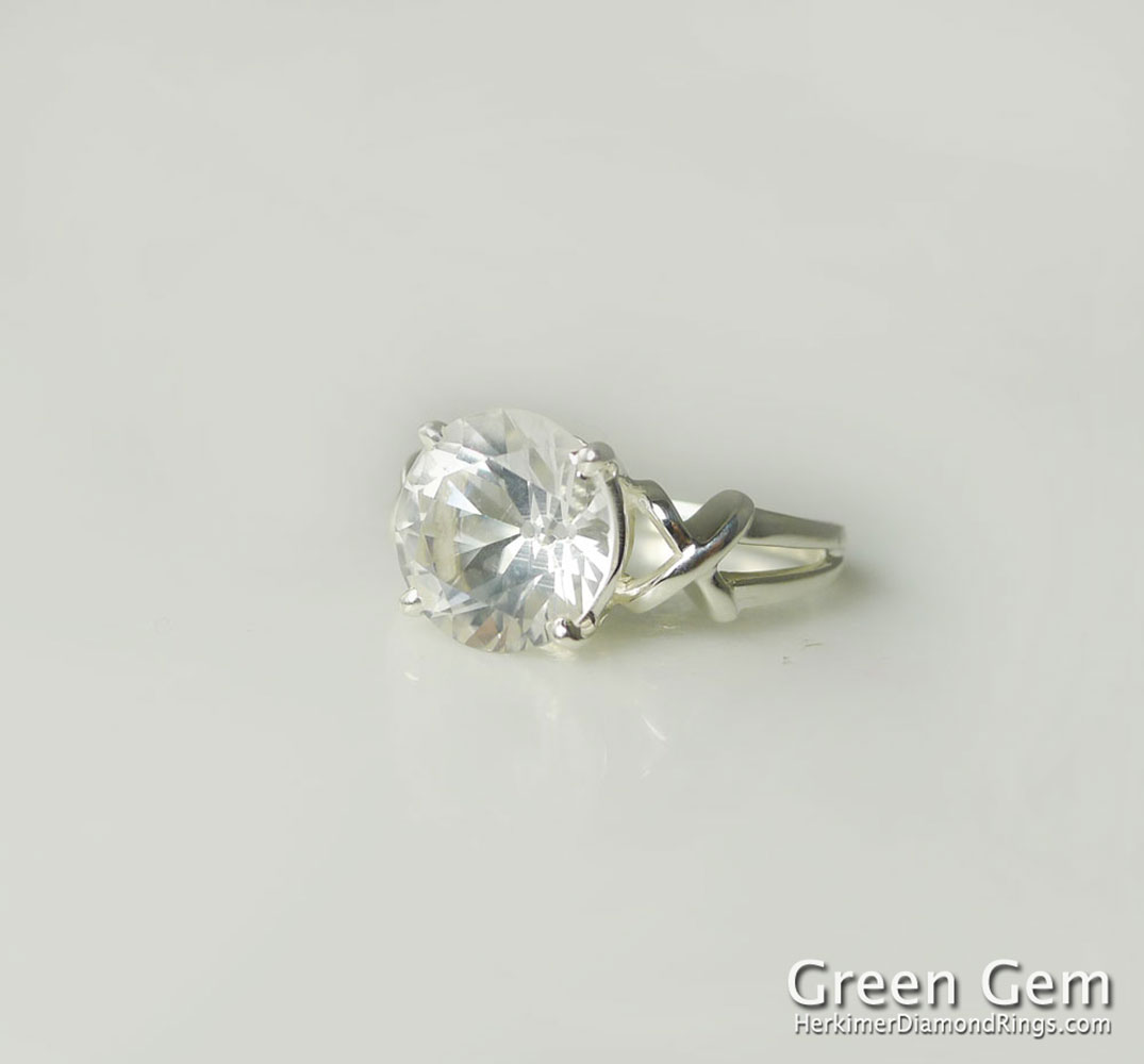 Herkimer Diamond Kiss Ring Search For