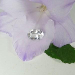 Herkimer Diamond Pink Tourmaline Ring