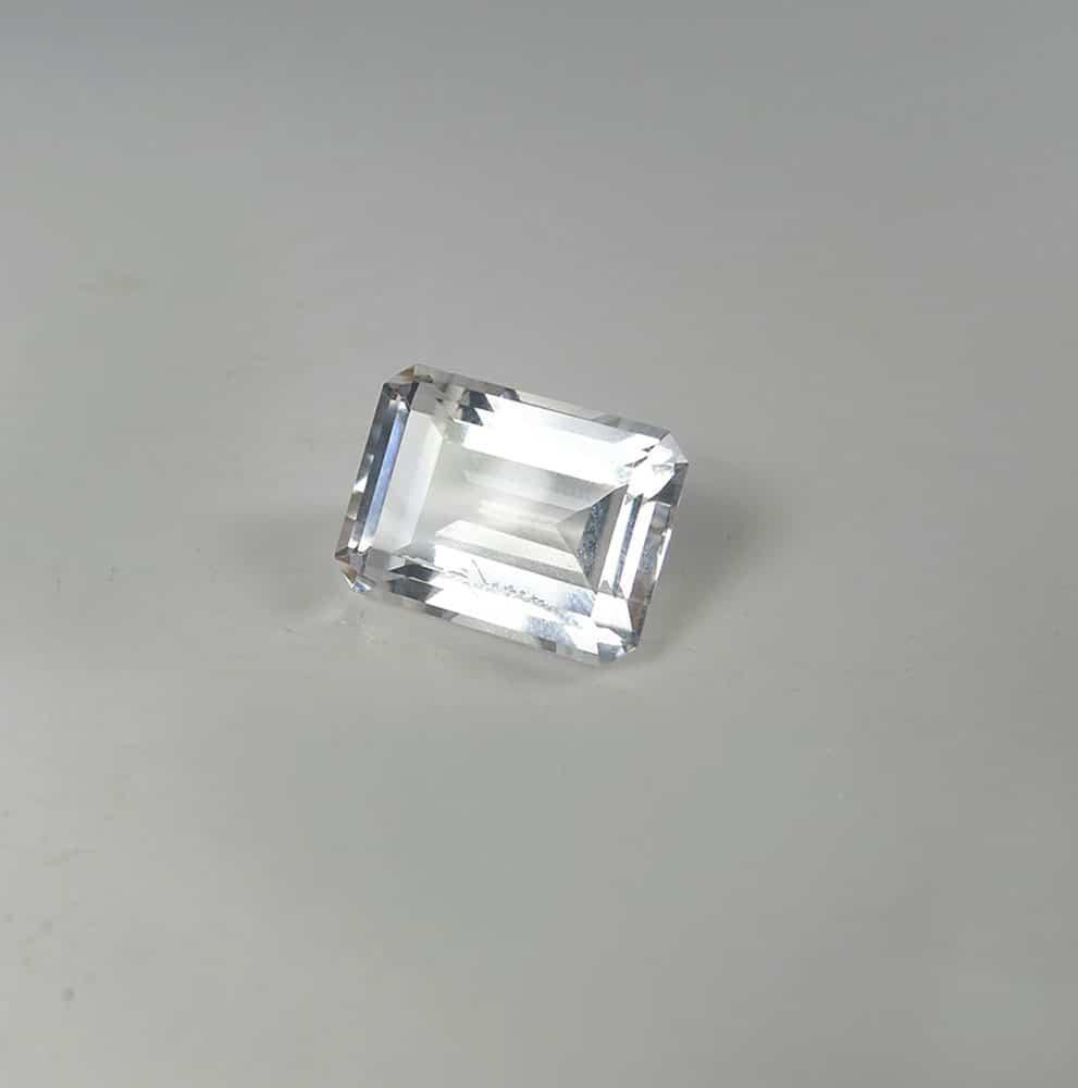 herkimer diamond loose emerald cut gemstone direct from