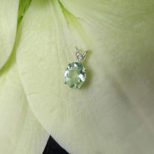 Green fluorite Pendant