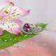 Tourmaline Engagement Ring Band
