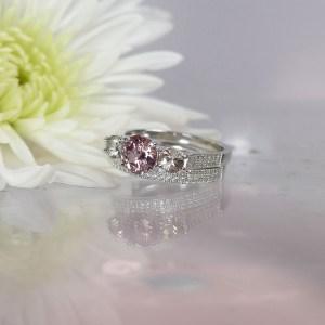 Gemstone Wedding Set