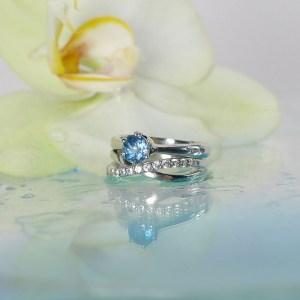 Aquamarine Wedding Set