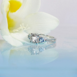 Natural Conflict Free Engagement Ring