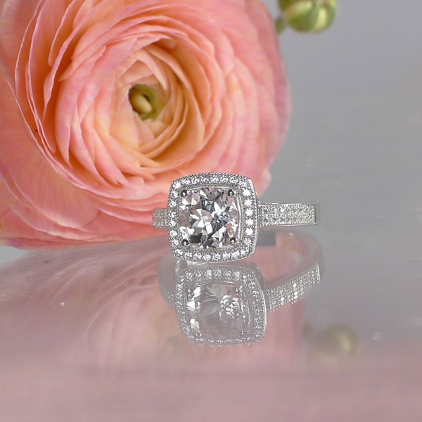Diamond Alternative Ring