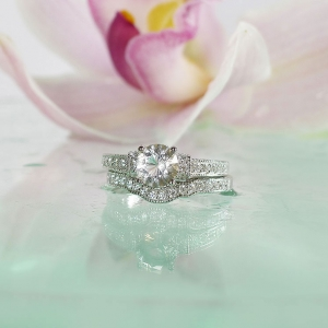Sterling Wedding Set