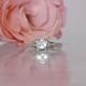 Asscher Cut Engagement Ring