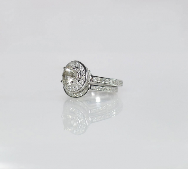 Moon Engagement Ring