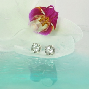 Diamond Alternative Earrings