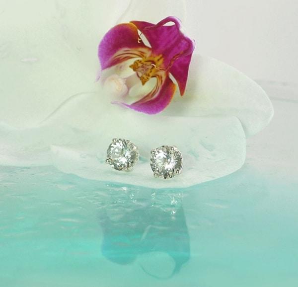 Diamond Alternative Earrings