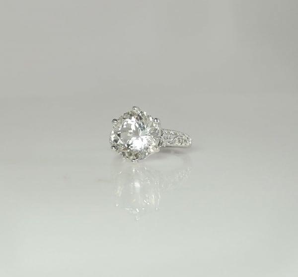 Non Diamond Engagement Ring