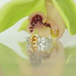Natural Zircon Ring