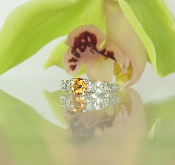 Natural Zircon Ring