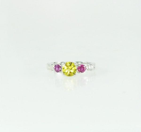 Beryl Ruby Ring