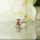 Bi Color Tourmaline Solitaire Ring