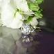 Herkimer Diamond kiss ring