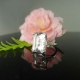 Herkimer Diamond Emerald Cut Ring