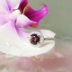 Natural Garnet Ring
