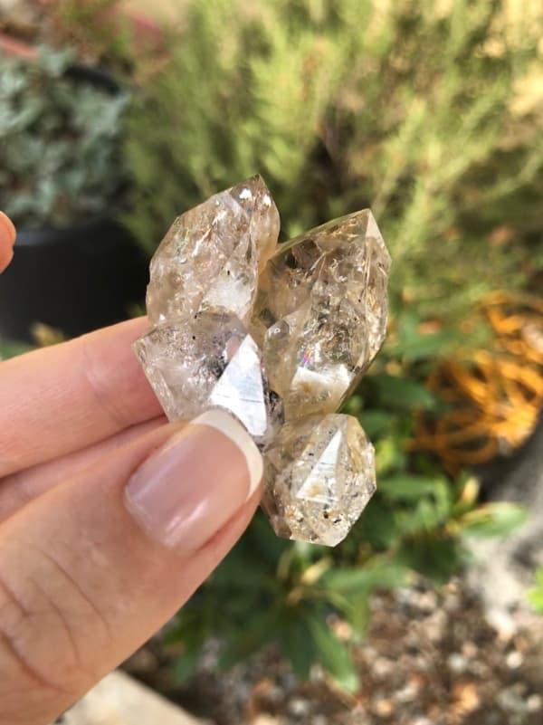 Herkimer Cluster Crystal