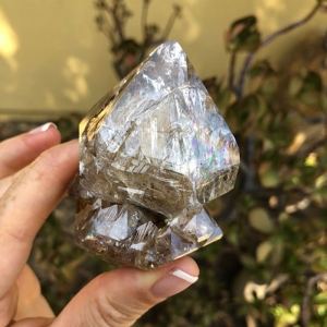 Large Herkimer Diamond Cluster
