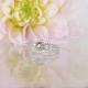 Chocolate herkimer diamond ring