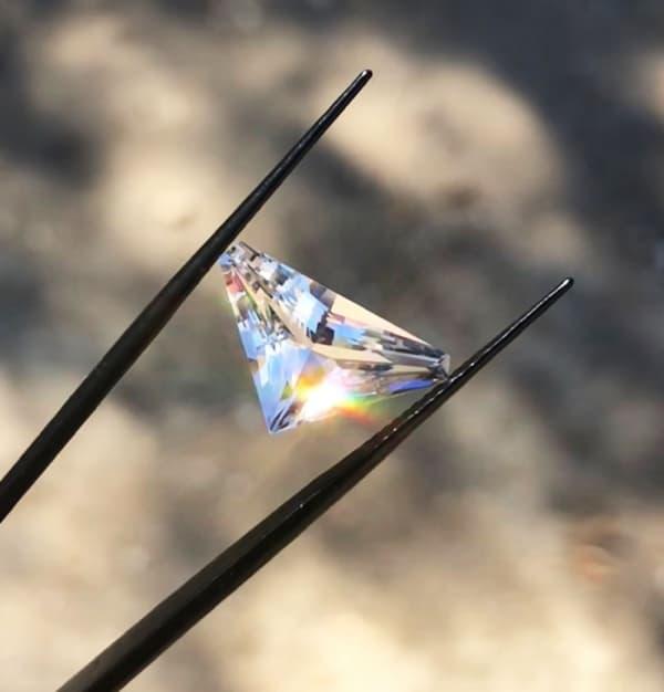 Shield Cut Herkimer Diamond