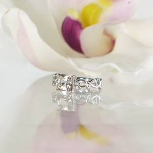 Vine Engagement Ring