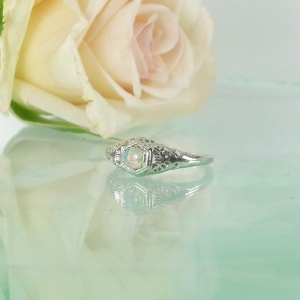 Petite Opal Ring