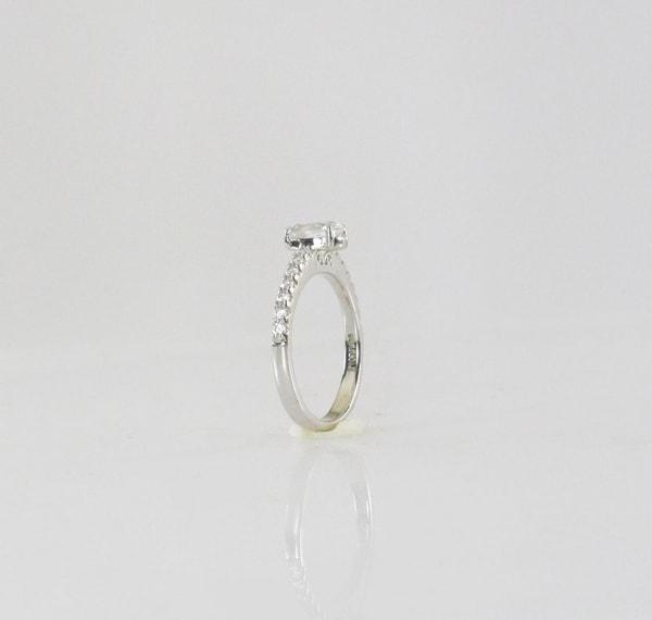 Dainty herkimer ring