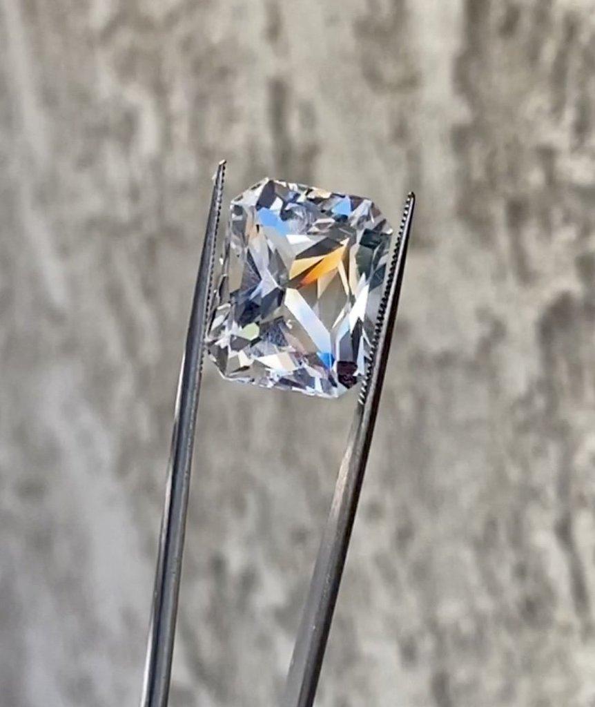 Radiant Cut Herkimer Diamond