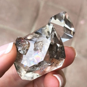 Herkimer Diamond Hydro Crystal