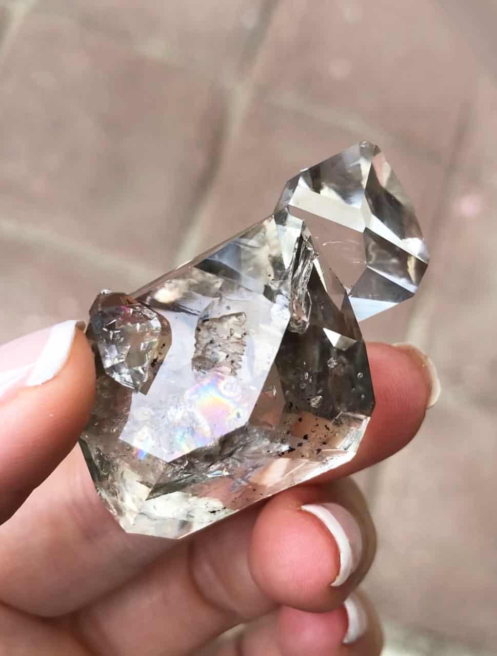 Herkimer Diamond Hydro Crystal