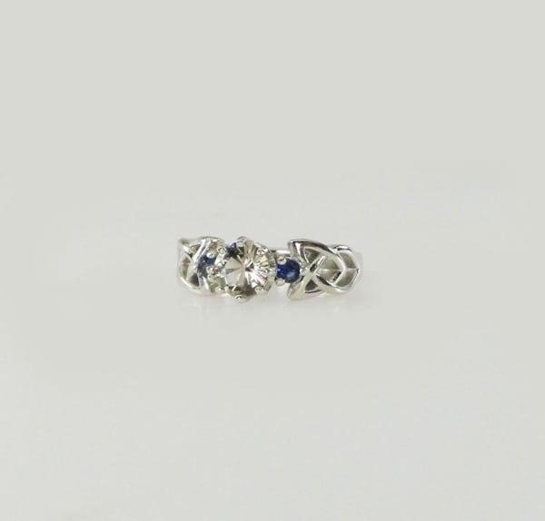 Herkimer Sapphire Ring