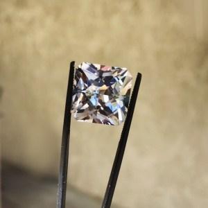 Herkimer diamond cushion cut